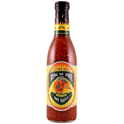 Bottle of the hot souce